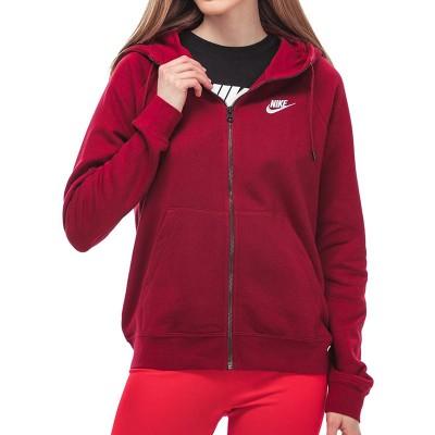 Nike női cipzáros pamut pulóver
