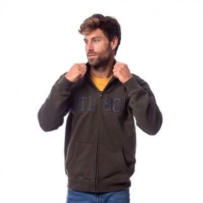 Heavy Tools TRAMIN férfi cipzáras pulóver