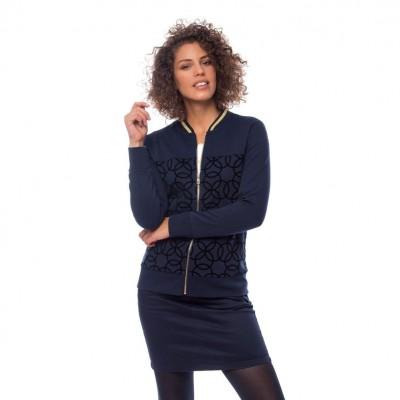 Heavy Tools TIZA női cipzáras pulóver