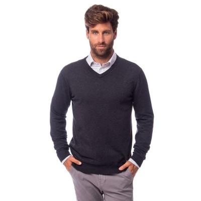 Heavy Tools HILDAR férfi kötött pulóver