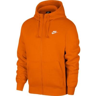 Nike férfi kapucnis, cipzásras pulóver