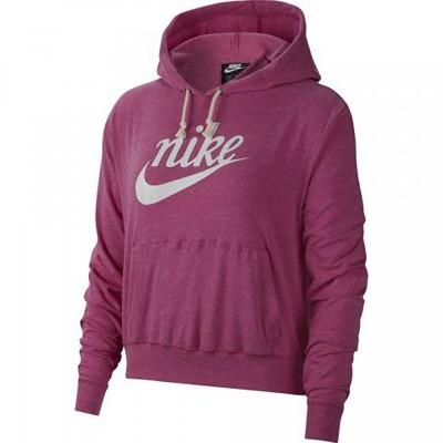 Nike női kapucnis pamut pulóver