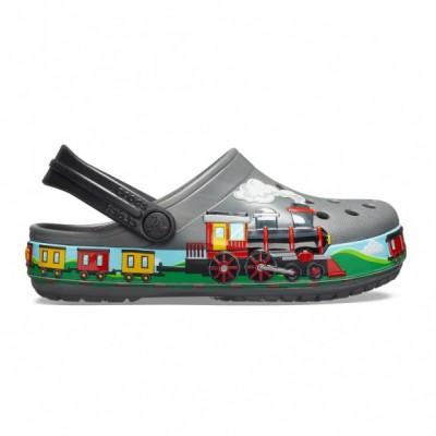 Crocs Crocs FL Train Band Clog K gyerek papucs
