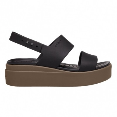 Crocs Crocs Brooklyn Low Wedge W női szandál